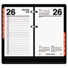 "Desk Calendar Refill with Tabs, 3 1/2"" x 6"", 2015 AAGE717T50"