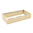 Three Wide Closed Locker Base, 36w x 18d x 6h, Sand TNNCLB3618SD
