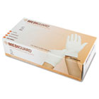 MediGuard Powdered Latex Exam Gloves, Small, 100/Box MIIMG1204