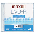 DVD-R Disc, 4.7GB, 16x MAX638000