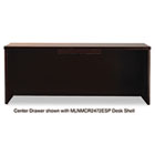 Mira Series Wood Veneer Center Drawer, 23w x 16d x 2h, Espresso MLNMCD1ESP