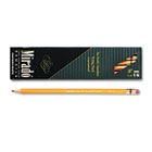 Mirado Woodcase Pencil, HB #2, Yellow Barrel, Dozen PAP2097