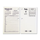 7510015453775 Core Daily Desk Calendar Refills, White, 2014 NSN5453775
