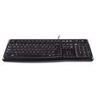 K120 Ergonomic Desktop Keyboard, USB, Black LOG920002478