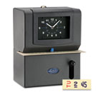Heavy Duty Time Clock, Mechanical, Charcoal LTH2121