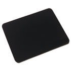 Natural Rubber Mouse Pad, Black IVR52448