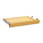 Laminate Angled Center Drawer, 26w x 15-3/8d x 2-1/2h, Harvest HON1526C