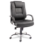 Ravino Big & Tall Series High-Back Swivel/Tilt Leather Chair, Black ALERV44LS10C
