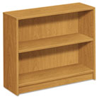 1870 Series Bookcase, Two-Shelf, 36w x 11-1/2d x 29-7/8h, Harvest HON1871C