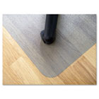 EcoTex Revolutionmat Recycled Chair Mat for Hard Floors, 48 x 30 FLRECO3048EP