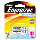 Advanced Lithium Batteries, AAA, 2/Pack EVEEA92BP2