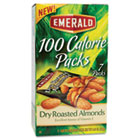 100 Calorie Pack Dry Roasted Almonds, .63oz Packs, 7/Box DFD34895