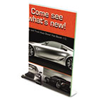 Superior Image Premium Green Edge Sign Holder, Acrylic, 8 1/2 x 11, Clear DEF5991790