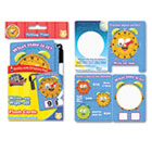 Write On/Wipe Off Flash Cards, Telling Time, K and Up, 9/Pk BDU99117UA24