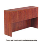 Valencia Series Hutch Doors, Laminate, 14w x 3/4d x 15h, Medium Cherry, 4/Set ALEVA291430MC