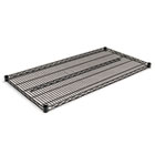 Industrial Wire Shelving Extra Wire Shelves, 48w x 24d, Black, 2 Shelves/Carton ALESW584824BL