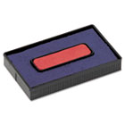Felt Replacement Ink Pad for 2000PLUS Economy Message Dater, Red/Blue COS061797