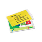 Laminating Pouches, 5 mil, 3 1/2 x 5 1/2, Index Card Size, 25/Pack FEL52008