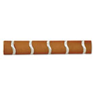 Designer Wall Rack, Wood, Wall-Mounted, Five Hooks, 20w x 2-3/4d x 3h, Cherry SAF4243CY