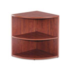 Valencia Lower End Cap Bookcase, 23-5/8w x 23-5/8d x 29-1/2h, Medium Cherry ALEVA622424MC