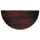 Valencia Series Training Table Top, Half-Round, 47 1/4w x 23 5/8d, Mahogany ALEVA72HR4824MY