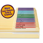 Viewables Color Labeling System, Top Tab Folder, 3 1/2 x 1 1/4, White, 160/Kit SMD64920