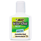 Wite-Out Water-Based Correction Fluid, 20 ml Bottle, White BICWOFWB12WE