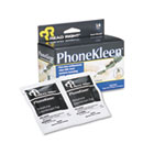 PhoneKleen Wet Wipes, Cloth, 5 x 5, 18/Box REARR1203