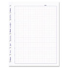 MiracleBind Quad Ruled Refill Sheets, 9-1/4 x 7-1/4, White, 50 Sheets/Pack REDAFQ9050R