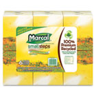 Recycled White Facial Tissue in Fluff-Out Boutique Box, 80/Box, 6 Boxes/Pack MRC4034
