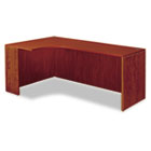 "Valencia Series Credenza w/Left Corner Extension, 71""w, Medium Cherry ALEVA25L7224MC"