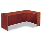"Valencia Series Credenza w/Right Corner Extension, 71""w, Medium Cherry ALEVA25R7224MC"