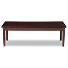 Verona Series Occasional Tables, 48w x 20d x 16h, Mahogany ALERN752048MM