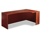 "Valencia Series Credenza w/Right Corner Extension, 71""w, Mahogany ALEVA25R7224MY"