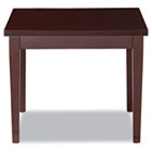 Verona Series Occasional Tables, 24w x 24d x 20h, Mahogany ALERN752424MM