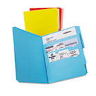 Divide it Up File Folder, Multi Section, Letter, Assorted, 12/Pack ESS10773
