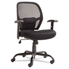 Merix450 Series Mesh Big/Tall Mid-Back Swivel/Tilt Chair, Black ALEMX4517