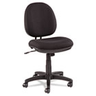 Interval Swivel/Tilt Task Chair, 100% Acrylic with Tone-On-Tone Pattern, Black ALEIN4811