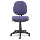 Interval Swivel/Tilt Task Chair, 100% Acrylic with Tone-On-Tone Pattern, Blue ALEIN4821