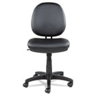 Interval Series Swivel/Tilt Task Chair, Soft-Touch Leather, Black ALEIN4819