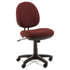 Interval Swivel/Tilt Task Chair, 100% Acrylic W/ Tone-On-Tone Pattern, Burgundy ALEIN4831