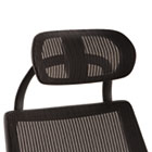 Headrest for Alera K8 Chair, Mesh, Black ALEKEHR18