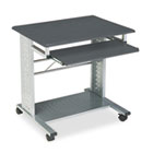 Empire Mobile PC Cart, 29¾w x 23½d x 29¾h, Anthracite MLN945ANT