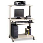 Eastwinds Multimedia Workstation, 36-3/4w x 21-1/4d x 50h, Gray MLN8350MRGRYGRY