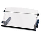 In-Line Freestanding Copyholder, Plastic, 300 Sheet Capacity, Black/Clear MMMDH640
