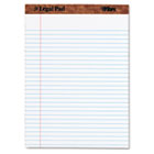 The Legal Pad Ruled Perforated Pads, 8 1/2 x 11 3/4, White, 50 Sheets/Pad TOP75330