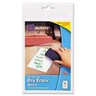 Peel & Stick Dry Erase Sheets, 4 x 6, White, 5/Pack AVE24300