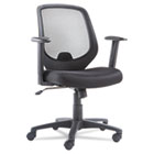 Mid-Back Swivel/Tilt Mesh Chair, Mesh Back/Seat, Black OIFCD4218