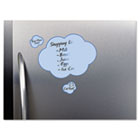 Peel & Stick Dry Erase Decals, Clouds, 10 x 10 Sheets, Blue, 3/Pack AVE24312