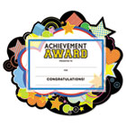 "Motivations Stars ""Achievement"" Certificate Award Kit & Holder, 8.5 X 5.5, 10/pk SOUMAK7"